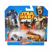 Hot Wheels Star Wars kisautó, R2D2 és C3PO