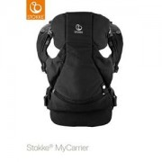 Stokke Unisex Baby Gear Carriers and slings Black My Carrier™ Front Carrier Black