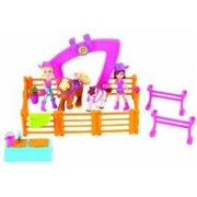 Jucarie Polly Pocket Horsing Around Doll Set