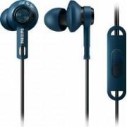 Casti cu Microfon Philips ActionFit DigDeep SHQ2405BL00 Albastre
