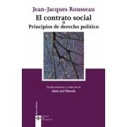 El contrato social o principios de derecho politico / The social contract and principles of political right by Jean-Jacques Rousseau