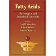 Fatty Acids by David I. Mostofsky