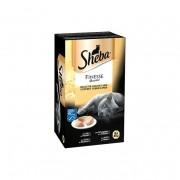 Sheba Finesse Mousse Vlees en Vis Selectie 8 x 85 g