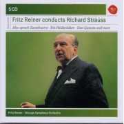 Also sprach Zarathustra-Ein Heldenleben-Don Quixote etc - Fritz Reiner conducts Richard Strauss (5CD)