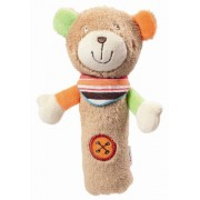 Fehn 091052 - Peluche Teddy, colore: Marrone / Multicolore