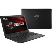"Laptop Gaming ASUS G551JW-V2-XN099 (Procesor Intel® Quad-Core™ i7-4720HQ (6M Cache, up to 3.60 GHz), Haswell, 15.6""FHD, 8GB, 750GB, nVidia GeForce GTX 960M@4GB, Mini DisplayPort, Tastatura iluminata)"
