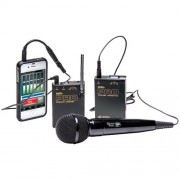 Vhf Wireless Microphone System For Smartphones Tablets, Azden