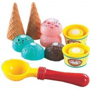 Small World Toys Living - Super Cool Ice Cream 10 Pc. Playset