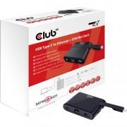 USB Type-C - Ethernet + USB Mini Docking Station