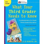 What Your Third Grader Needs to Know (Revised and Updated) by Jr E D Hirsch