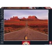 Educa - 16007 - Puzzle Classique - Route De Monument Valley - 1500 Pièces