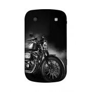 PrintVisa Black Beauty 3D Hard Polycarbonate Designer Back Case Cover for BlackBerry Bold Touch 9900 :: BlackBerry Dakota :: BlackBerry Magnum