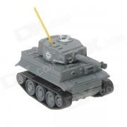 Mini 27MHz Rechargeable 2,5-CH R/C Battle Tank - gris