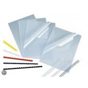 Voorbladen A4 300 Micron PVC Transparant Huismerk