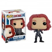 Funko - Pop ! Marvel: Civil War - Black Widow - Figurine En Vinyle
