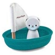 Plantoys Plan Toys Sailing Boat Polar Bear