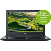 "Laptop Acer Aspire E5-575G (Procesor Intel® Core™ i5-7200U (3M Cache, up to 3.10 GHz), Kaby Lake, 15.6""FHD, 4GB, 128GB SSD, nVidia GeForce 940MX@2GB, Wireless AC, Linux, Negru)"