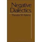Negative Dialectics by Theodor W. Adorno