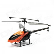 J045-1 3.5-CH IR remoto R / C Helicopter w / giroscopio - Negro + Naranja