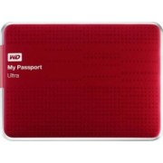HDD extern Western Digital My Passport Ultra 1TB USB 3.0 2.5inch rosu model