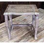 Stolik,stół drewniany rzeźbiony duży Indie