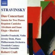 I. Stravinsky - Duo Concertante/ Duo Piano (0747313253227) (1 CD)