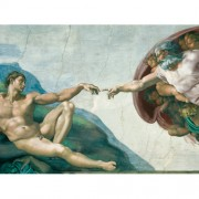 Ravensburger puzzle michelangelo - crearea lui adam, 1000 piese