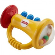 Fisher Price Trumpet Rattle Multi Color