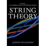 String Theory: Volume 1, An Introduction to the Bosonic String: Introduction to the Bosonic String v. 1 by Joseph Polchinski