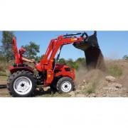 2014 TRAKTOR DELEKS TR-130 30 HP 4x4 s nakadačom