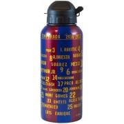 Bidon barcelona blauw/rood aluminium names: 400 ml