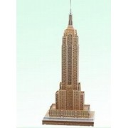 3d Empire State Building New York City Puzzle Model Kit
