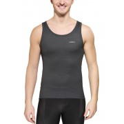Odlo Cubic Singlet Crew Neck Men ebony grey/black XXL