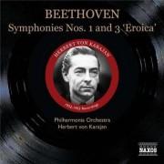 L Van Beethoven - Symphonies No.1 & 3 (0747313333929) (1 CD)