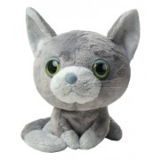 Gatto - 940.821 - Peluche - The Cat - Sitting - grigio - 25 cm