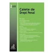 Caiete de Drept Penal, Nr. 2/2009.