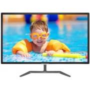 "Monitor IPS LED Philips 31.5"" 323E7QDAB/00, Full HD (1920 x 1080), VGA, DVI, HDMI, 5 ms, Boxe (Negru)"
