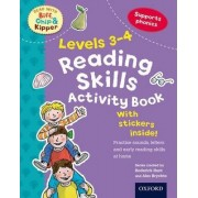 Oxford Reading Tree Read With Biff, Chip, and Kipper: Levels 3-4: Reading Skills Activity Book by Roderick Hunt