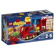 LEGO - La Aventura en el camión araña de Spider-Man, multicolor (10608)