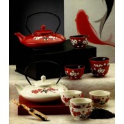 Set de ceai din portelan chinezesc