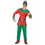 Vegaoo Julalvsdräkt för vuxna - tomtens medhjälpare