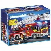 Playmobil Camion pompiers avec échelle pivotante - Playmobil