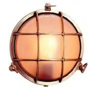Bullseye wandlamp messing 21,5cm Ø