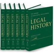 The Oxford International Encyclopedia of Legal History: 6 Volume-set by Stanley N. Katz