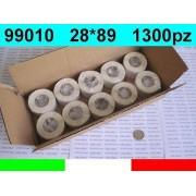 Dymo 99010 10x ROTOLI ETICHETTE COMPATIBILI DYMO LABELWRITER 400 LABELS