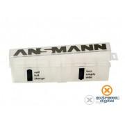 Cutie pentru acumulatori, pentru 8buc. acumulator Ansmann