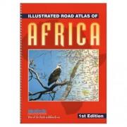 Wegenatlas - Atlas Illustrated Road Atlas of Africa | MapStudio