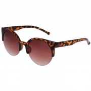 Cat-Eye Vintage dames zonnebril Leopard