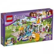 Конструктор ЛЕГО Френдс - Летен басейн Хартлейк, LEGO Friends, 41313
