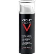 Vichy Homme Hydra Mag C+ hidratáló arckrém fáradtság ellen arcra és szemkörnyékre 50 ml